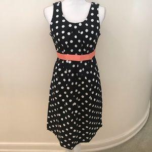 NWT  Motherhood polkadot sleeveless dress